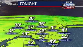 Weather Authority: Another cold night will usher in a warm first day of fall