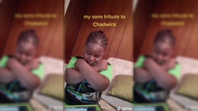 5-year-old cancer survivor pays tribute to Chadwick Boseman with sweet salute