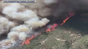 More than 200 airlifted to safety from massive Central California wildfire