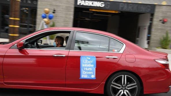 Uber, Lyft look to kill California law on app-based drivers