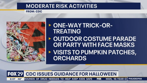 CDC releases new guidelines for Halloween