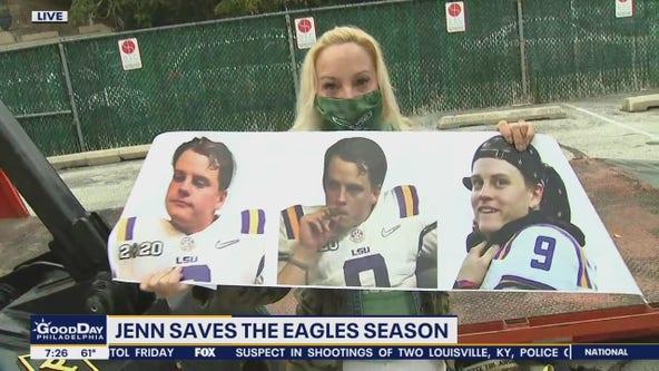 Jenn Fred enlists help in effort to save Eagles season