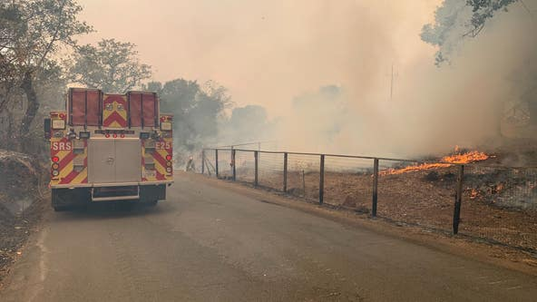 Evacuations ordered in Napa County due to fast-moving fire