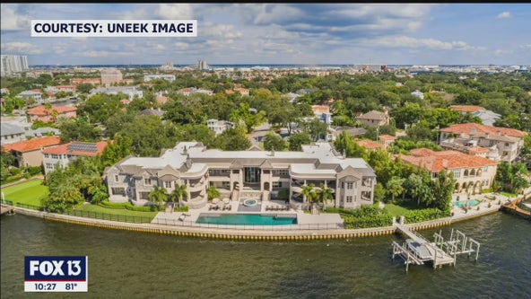 Derek Jeter's Tampa mansion, currently rented by Tom Brady, goes on the market for $29-million