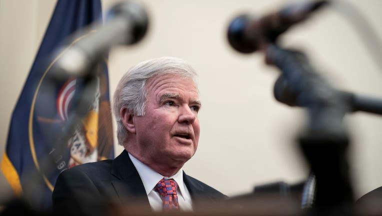 Senators Chris Murphy And Mitt Romney Speak To The Media On Student Athlete Compensation