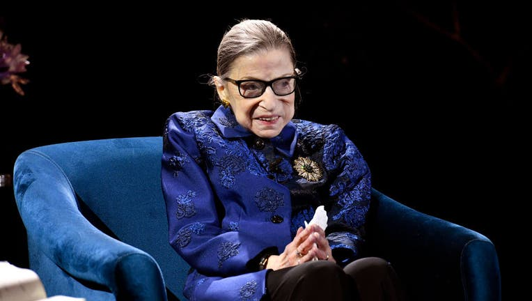 Late Supreme Court Justice Ruth Bader Ginsburg photographed in Dec. 2019