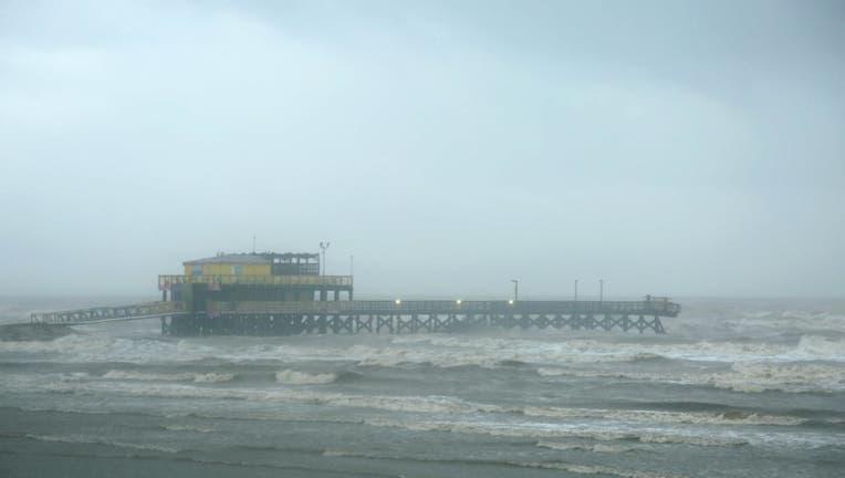 Tropical Storm Beta Affects Texas Coast