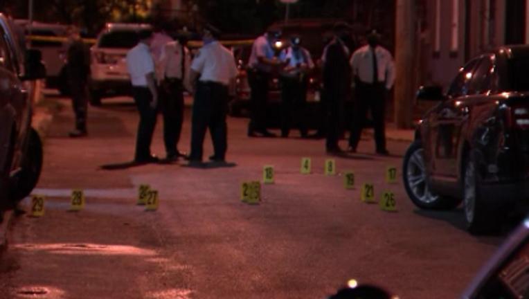 N Hicks Street shooting