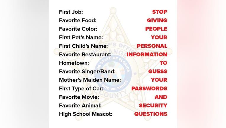 online quiz ORANGE COUNTY SHERIFFS OFFICE