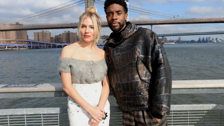 Sienna Miller reveals Chadwick Boseman paid part of her '21 Bridges' salary after parity issue
