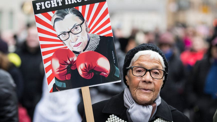 Justice Ginsburg's death puts Roe v. Wade on the ballot in November