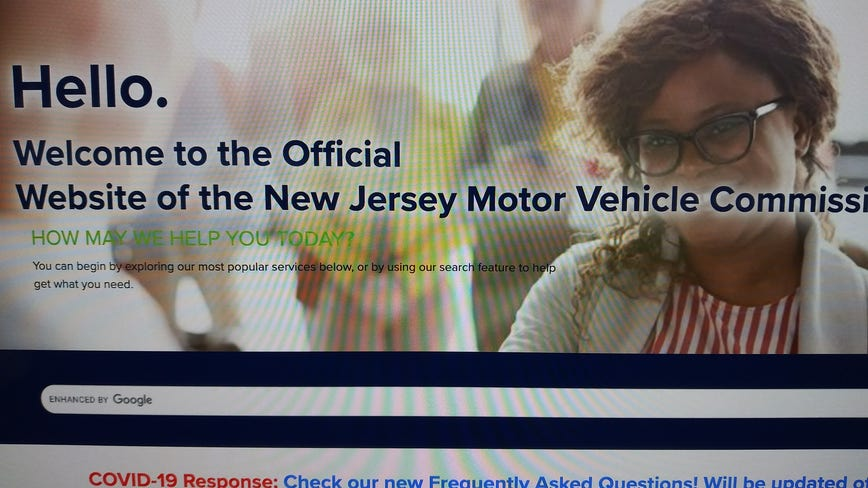 NJ Motor Vehicle Commission computers down