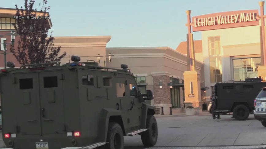 No injuries reported after shots fired at Lehigh Valley Mall