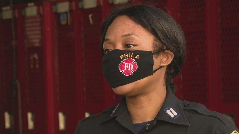 Philadelphia to promote first Black female battalion chief