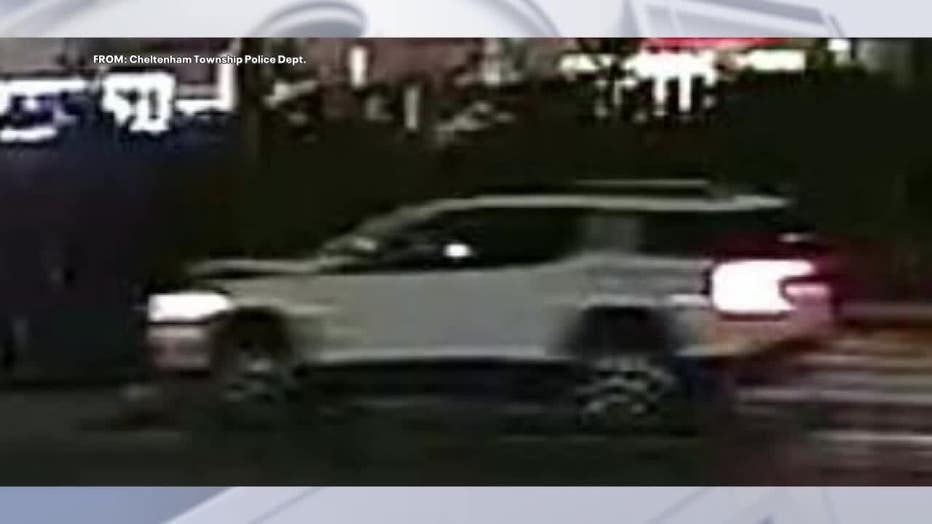 White SUV with front end damage sought in Cheltenham Township hit and run