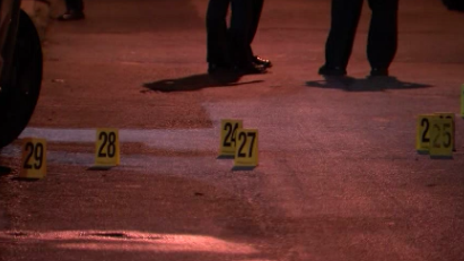 North Hicks Street shooting