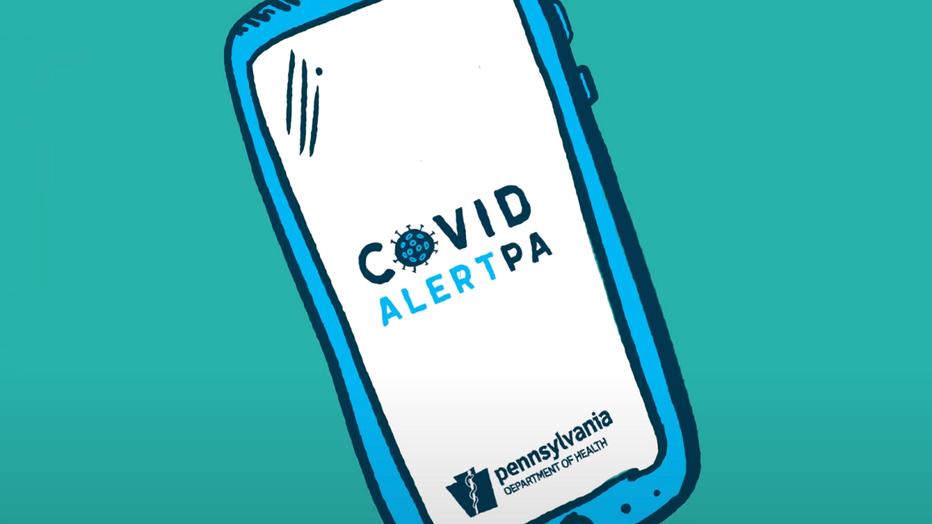 COVID Alert PA Mobile App