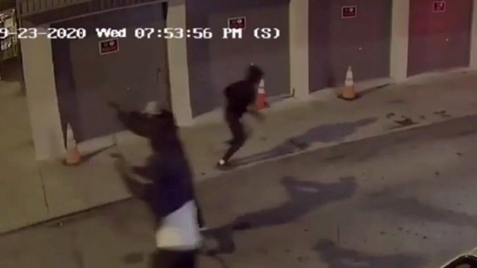 Three men were shot in Tioga-Nicetown last Wednesday in an incident caught on camera.