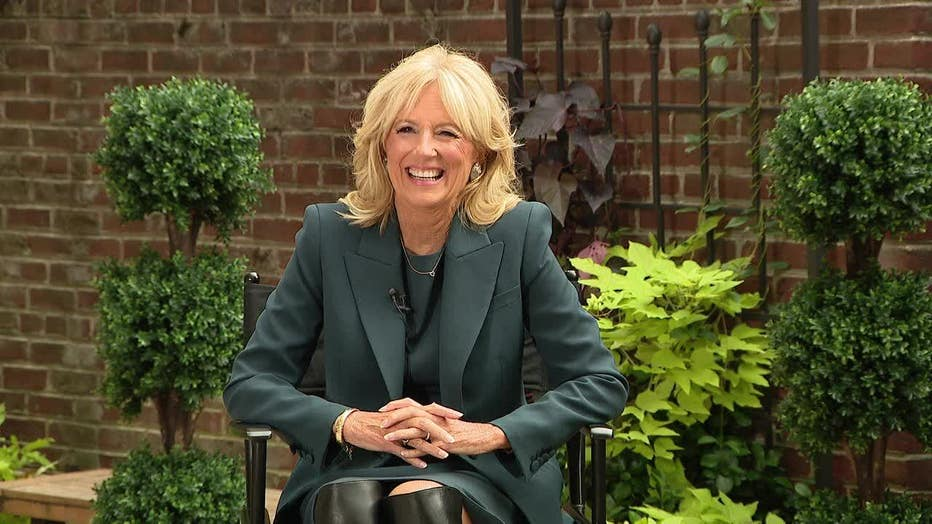 Dr. Jill Biden sits down for an interview on Good Day Philadelphia to discuss election, return to schools.