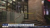 Police investigating attempted break in at FOX 29 Thursday morning