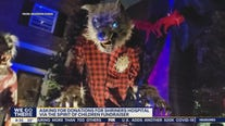 Local teen creates haunted street display