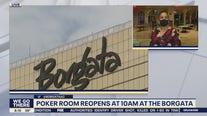 Poker Room reopens at the Borgata Hotel Casino and Spa
