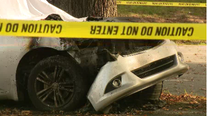 Police: 2 dead after car crashes into tree in West Philadelphia