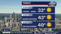Weather Authority: Sunny, chilly Halloween slated for region