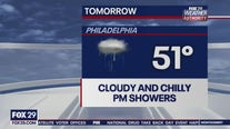 Weather Authority: Chilly, gloomy Sunday with p.m. rain showers