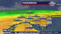 Weather Authority: Fall warm up begins with pleasant Monday