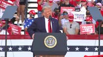 Trump hits Biden on energy, coronavirus policies during rally at Allentown manufacturer