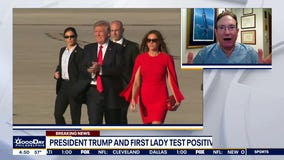 Dr. Mike reacts to President Trump, First Lady testing positive for COVID-19