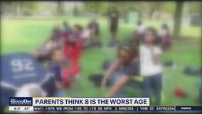 Parents think 8 is the worst age, citing 'Extreme Eights'