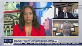 Behavioral health specialist joins Philadelphia police dispatch center