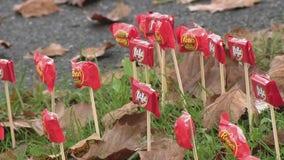 Bucks County neighborhood gets creative for trick-or-treaters amid COVID-19 pandemic