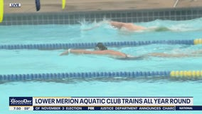 Lawrence Park Swim Club has heated pool for swimmers