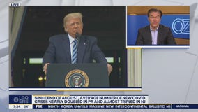 Dr. Oz weighs in on President Trump's return to campaign trail