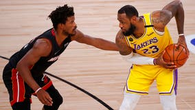 Lakers win Game 4 of NBA Finals; up 3-1 in championship series against Miami