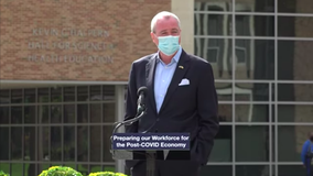 NJ Gov. Murphy to isolate after contact tests positive for COVID-19