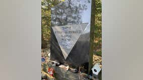 Memorial for fallen New Jersey State Trooper vandalized in Cape May County