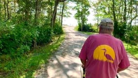 88-year-old man completes walk 'around-the-world'