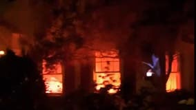 Fiery Halloween decorations at California home trigger 911 calls
