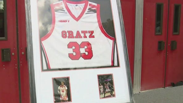 'Stop the Violence' rally held in memory of murdered Simon Gratz graduate and athlete