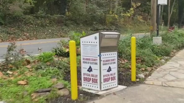 Pennsylvanians urged to drop off mail-in ballots in person