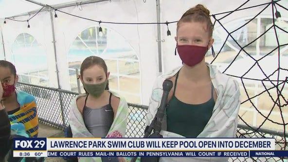 Lower Merion Aquatic Club trains at Lawrence Park Swim Club