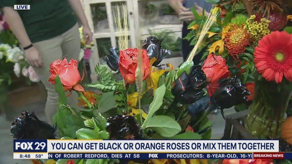 Polites Florist creates trick or treat Boo-quets for Halloween