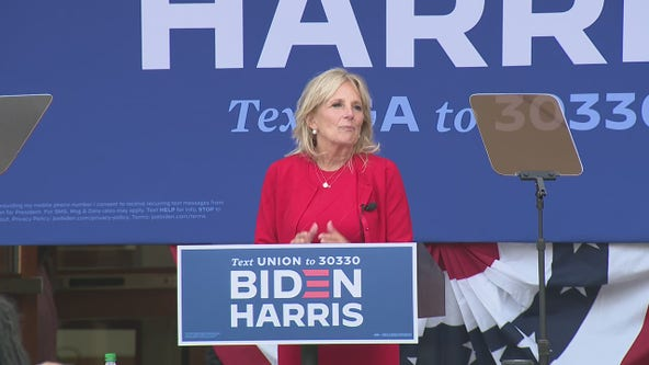 Dr. Jill Biden campaigns in Georgia