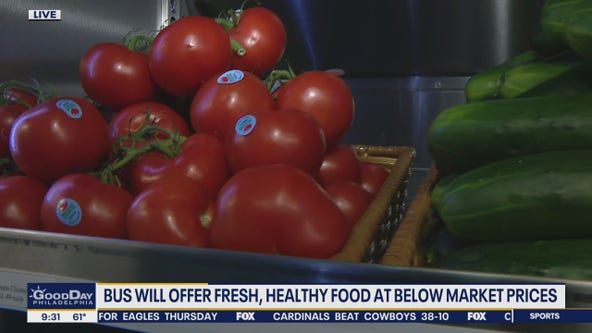 Virtua Health creates mobile grocery store to offer healthy foods for cheap