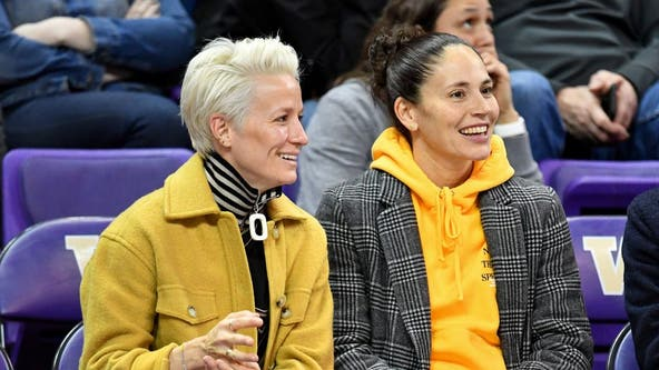 Seattle sports power couple Sue Bird, Megan Rapinoe get engaged