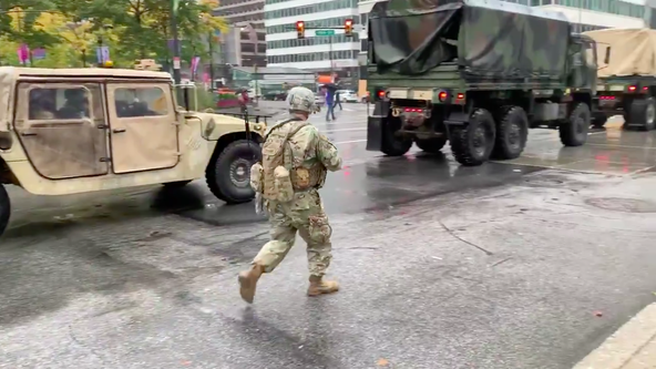 National Guard arrives in Philadelphia to help maintain peace following unrest, looting